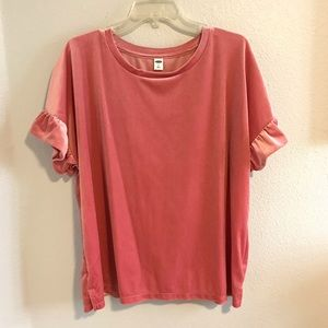 SPARKLY ✨ pink Old Navy top